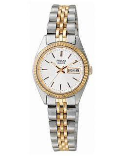 Pulsar Watch, Womens Stainless Steel Bracelet PXX006