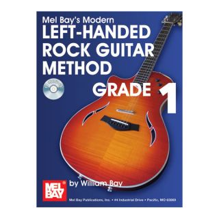 Modern Left Handed Rock Guitar Method Grade 1 Book CD