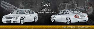 Mercedes C E Class W203 W211 Door Lock Repair Kit