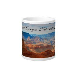 Grand Canyon National Park Landscape Photography Jumbo Mugs