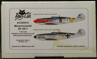 Alley Cat 1 32 Messerschmitt BF 109T Fighter Resin Conversion Kit