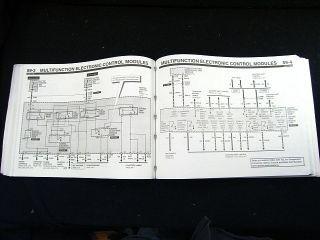 1995 Ford Contour Mercury Mystique Electrical Manual