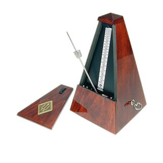 Wittner High Gloss Finish Mahogany Color Metronome Open Box
