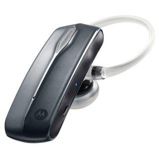 CommandOne Universal Dual Mic Wireless Bluetooth Headset   Black