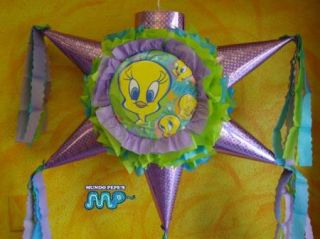 Pinata Tweety Bird Party Mexican Craft Holds Candy