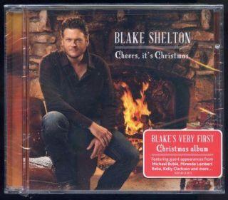 Blake Shelton Cheers Its Christmas CD New SEALED