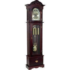 Edward Meyer Grandfather Clock with Beveled Glass HHGFC80