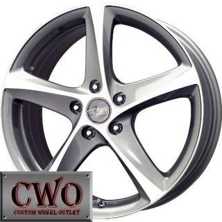 14 Gunmetal MB Motoring Twist Wheels Rims 4x100 4 Lug Civic Mini G5