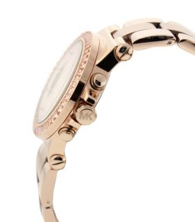 Michael Kors MK5412 Womens Designer Rose Gold Chronograph Watch w