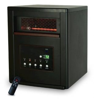 Quartz Infrared Portable Heater Electric 1000 sqft SPP 4pc 1000