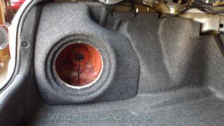 03 07 Honda Accord Sedan Sub Box Subwoofer Enclosure Stealth Sub Box