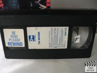 VHS Steve McQueen Sharon Farrell Will Geer Michael Constantine
