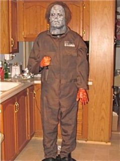 Halloween Life Size Michael Myers Animated Working Movie Figure Gemmy