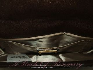 Michael Kors Sutton Leather Suede Clutch Purse Bag