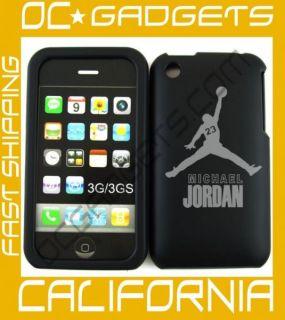 Michael Jordan Black Cover Case iPhone 3G 3GS Unlocked