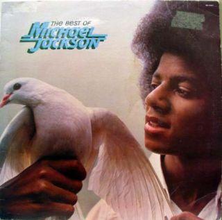 Michael Jackson The Best of LP VG M5 194V1 Vinyl 1975 Record