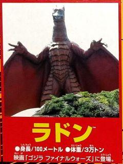 Ultimate Monster Godzilla Final Wars Mini Kaiju Figure Rodan