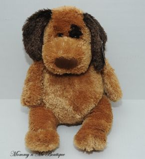 Michaels Brown Stuffed Puppy Dog Plush Toy New