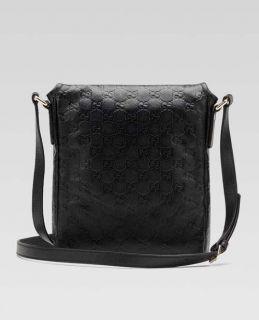 New Authentic Gucci Guccissima Messenger Shoulder Bag Handbag Tote