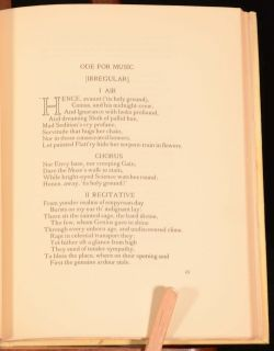 1946 Poems by Thomas Gray Eton College Prize Presentation Riccardi