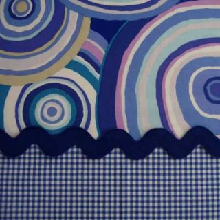 Kaffe Fassett Targets Blue Circles GP67 Fabric Yd