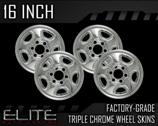 YOUR FACTORY STEEL WHEELS MUST BE AN EXACT MATCH TO THE CHROME WHEEL