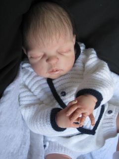 Reborn Baby Boy Henry Sheila Michael Full Body Soft Line Vinyl