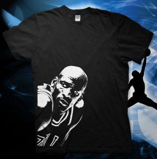 Michael Jordan High Quality Cotton T Shirt NBA Bulls Slam Dunk 23 All