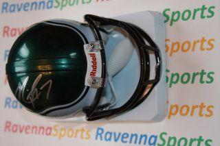 Michael Vick Autographed Philadelphia Eagles Riddell Mini Helmet JSA