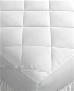 Home Design King Mattress Pad Quilted Top Skirted to 18 Deep Promo