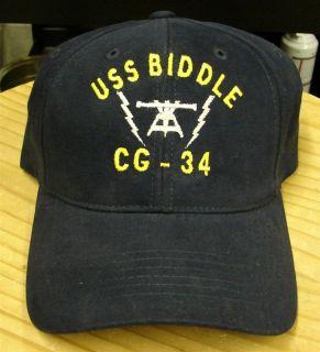 USS Michael Murphy Job Rate Insignia Emb Cap Hat
