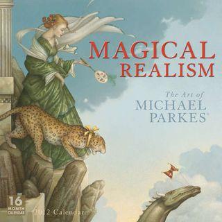 Michael Parkes Magical Realism 2012 Wall Calendar