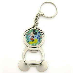 Disney Mickey Mouse Bottle Opener Key Ring Keychain
