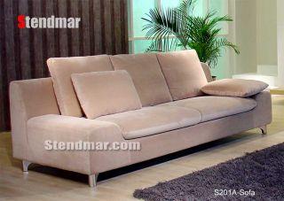 New Modern Italian Design Microfiber Sofa S201A