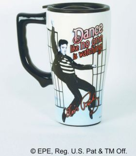 Elvis Presley Dance Travel Mug