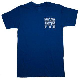 The Office Dunder Mifflin Fun Run Race Costume TV Show T Shirt Tee