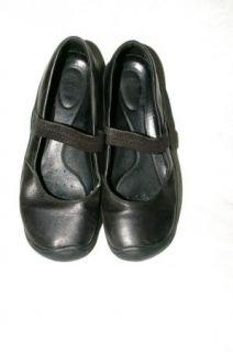 Michael Kors Brown Leather Wood Heel Clogs Mules Womens 6 M