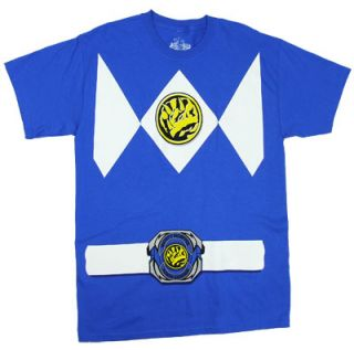 Mighty Morphin Power Rangers Blue Ranger Costume T Shirt