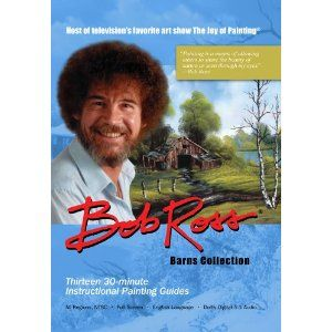 Bob Ross Joy of Painting Barns Collection New DVD
