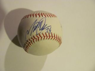 Justin Verlander Miguel Cabrera Fielders Autographed Rawlings Olmb