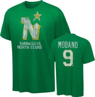 Mike Modano Old Time Hockey NHL Alumni Minnesota North Stars T Shirt