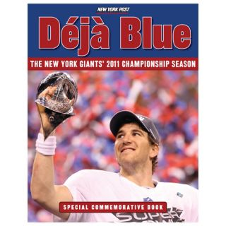New York Giants Super Bowl XLVI Champions Paperback Book