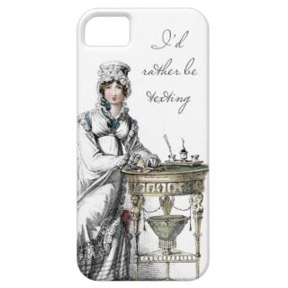 Rather be Texting Regency Fashion Plate iPhone 5 Cases