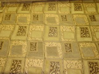 Swavelle Millcreek Hopewell Mushroom Upholstery Fabric Tan Gold Modern