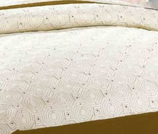 3pc Reversible Queen Quilt Bedspreads Begie and Coffee Milano