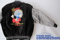 Leather Cast Member 2000 Spaceship Earth Mickey Millennium Jacket