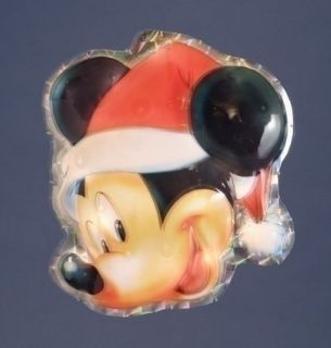 of Disney Mickey Mouse Lighted Christmas Window Decor Yard Art #169544