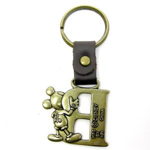 Disney Mickey Mouse pewter key ring. This Pewter key ring is in the