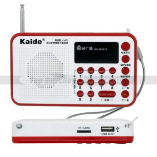 USB Portable FM Radio MP3 WMA Micro TF SD MMC Card Audio Music Player