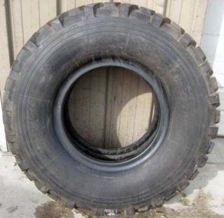 15 5 80R20 Michelin XL Tire 90 Tread Military 6x6 Truck